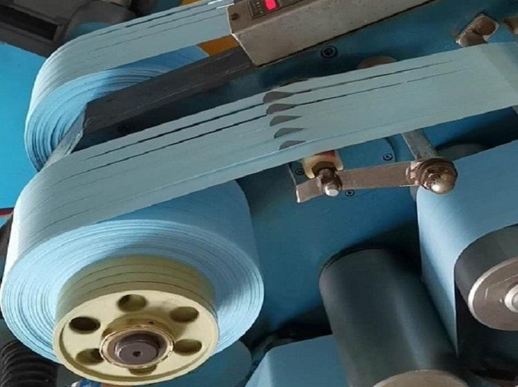 Yüksek yoğunluklu mavi PTFE iplik bandı üretimi