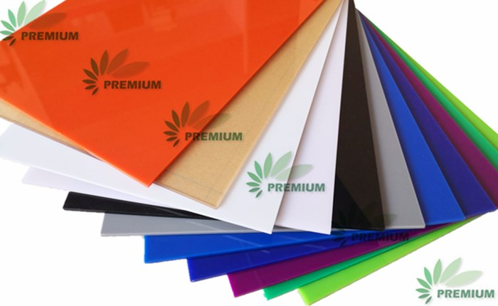 Advertising Materials Premium Clear And Color Cast Acrylic Sheet