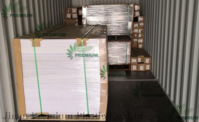100% Virgin Perspex Cast Acrílico Folhas Plexiglass PVC Foam Board Entrega