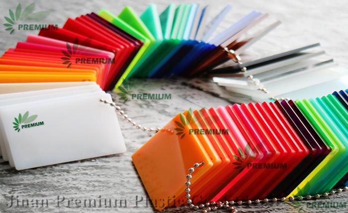 Nhà máy tấm nhựa acrylic Perspex đúc rõ ràng và có màu