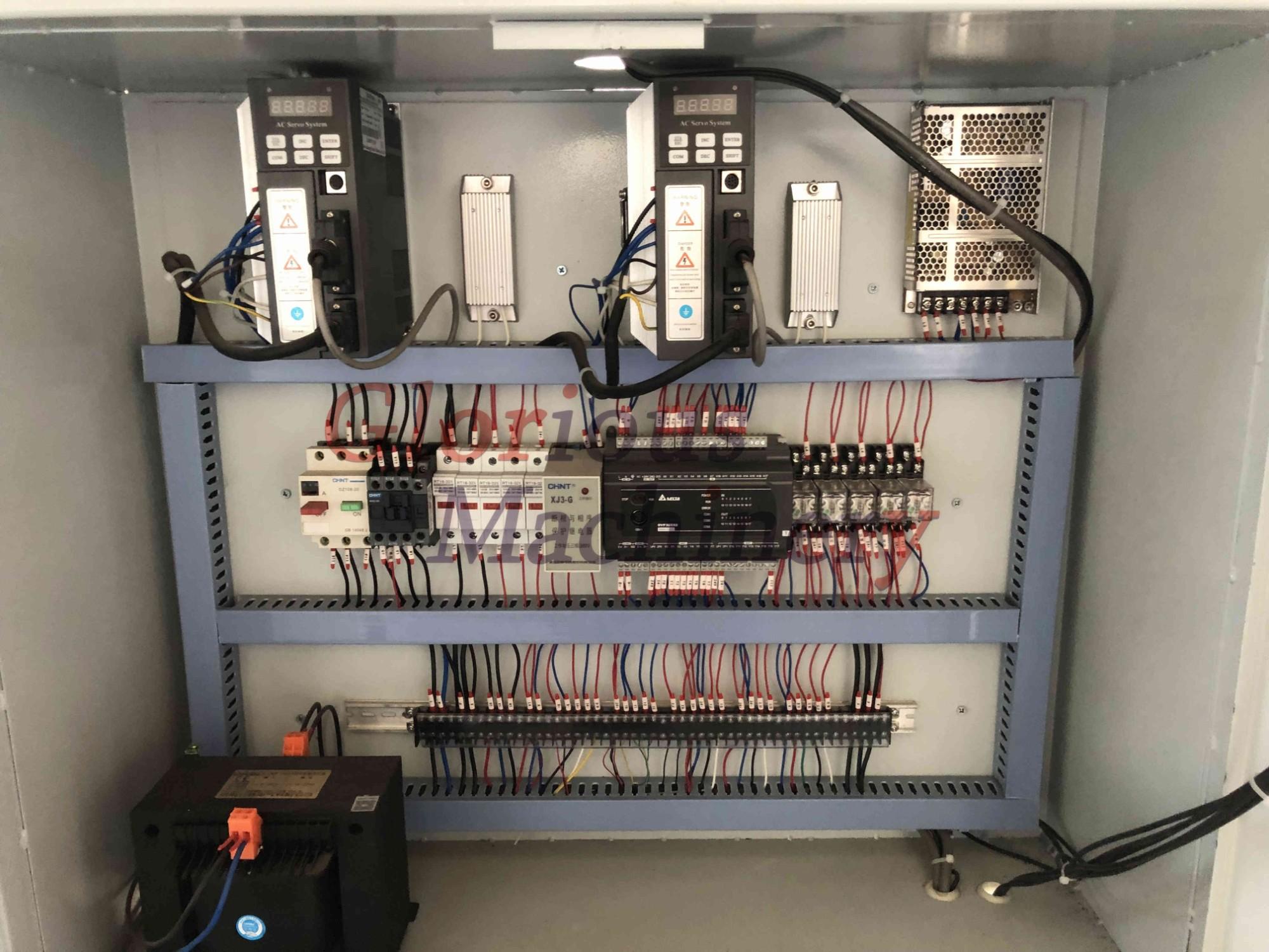 PVC Profile Five Cutters Corner Cleaning Machine