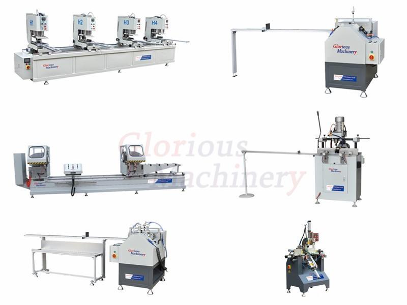 PVC Window Door Machine Production Line