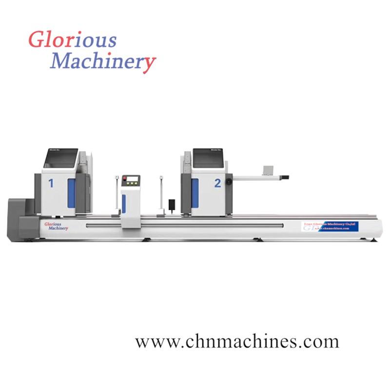 Aluminum CNC Double Head Cutting Saw Machine