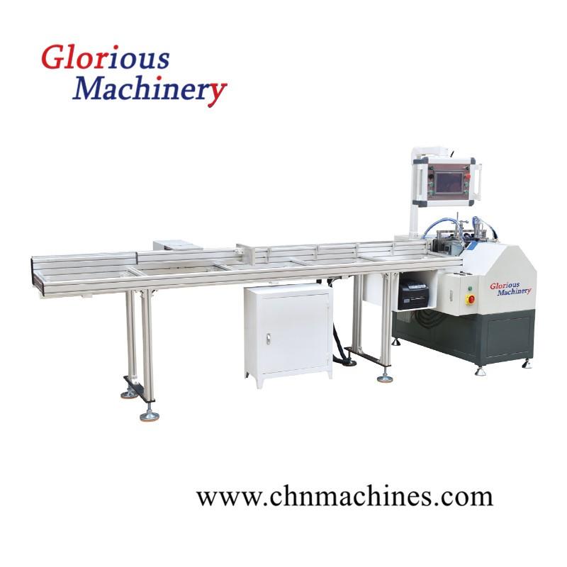 Aluminum Circular Arc Layering Cutting Saw Machine