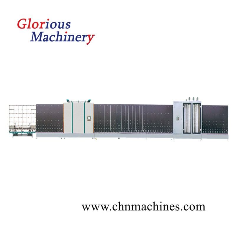 Vertical Inslating Double Glass Glazing Machine