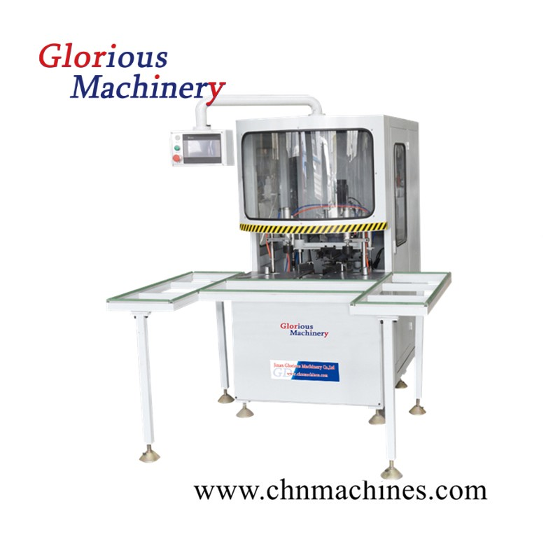 PVC Profile Five Axis Corner Cleaning Machine
