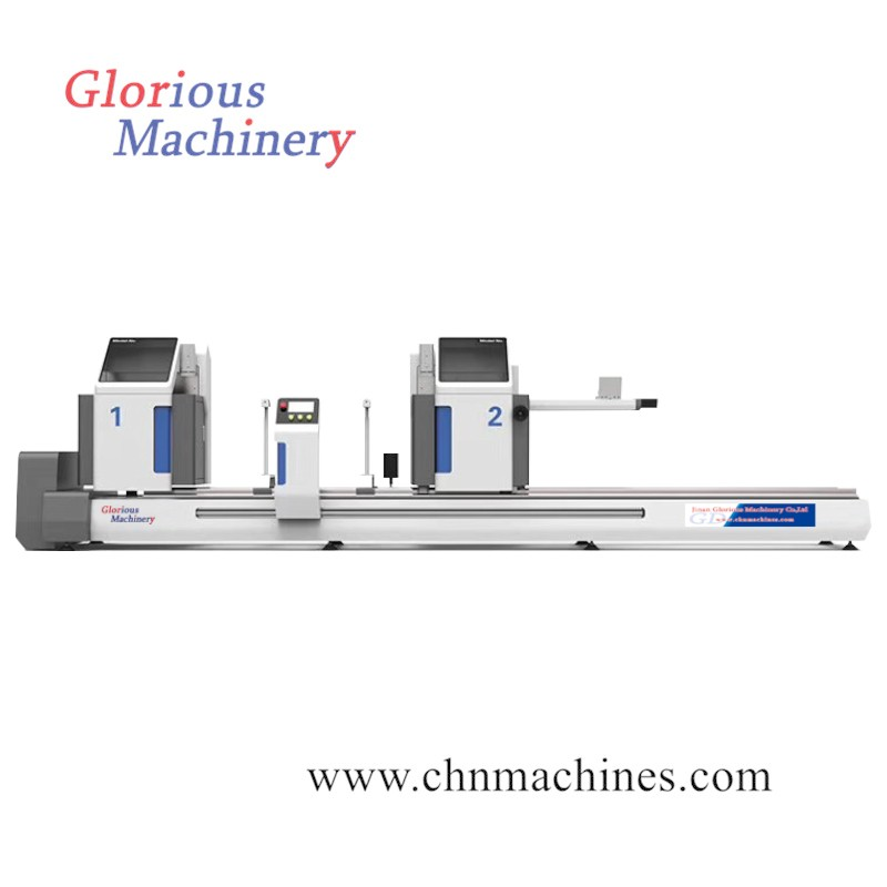 Aluminum CNC Double Head Mitre Cutting Machine