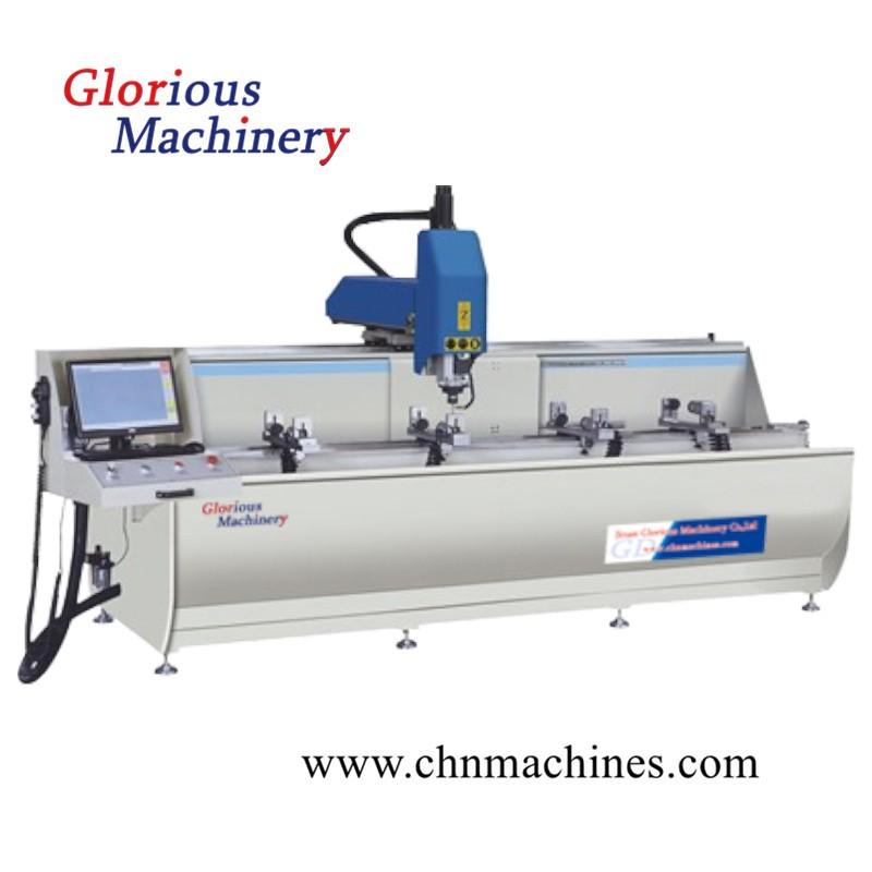 Aluminum Profile CNC Drilling Milling Machine