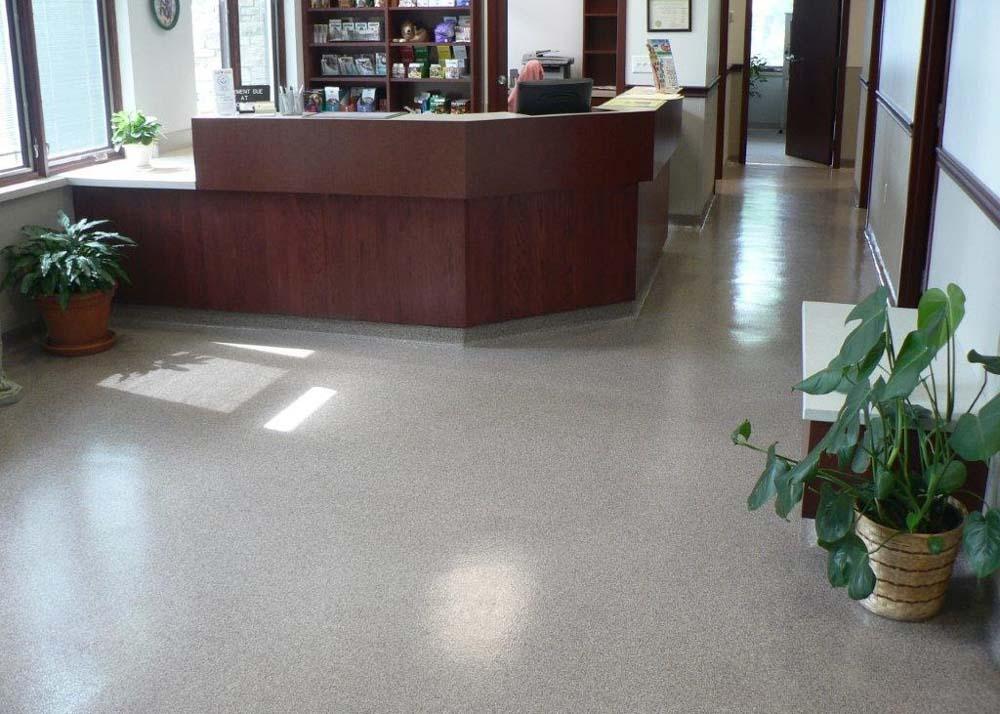 Epoxy Decorative Floor Chip Flakes Coating