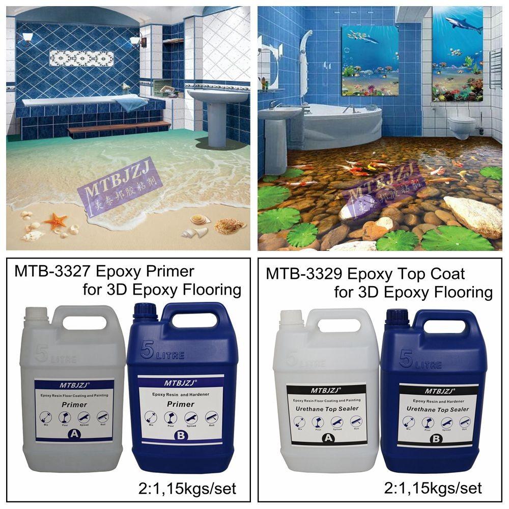 Yellow Resistant 3D Epoxy Floor
