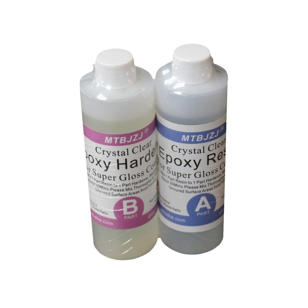 1 bis 1 Großzügig UV-beständiges Epoxidharz verwenden