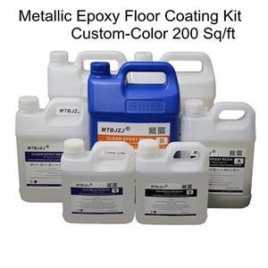 Metallic Epoxy Floor Kits