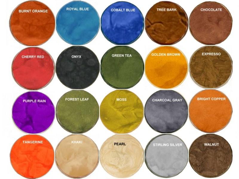 Metallic Pigment For Epoxy