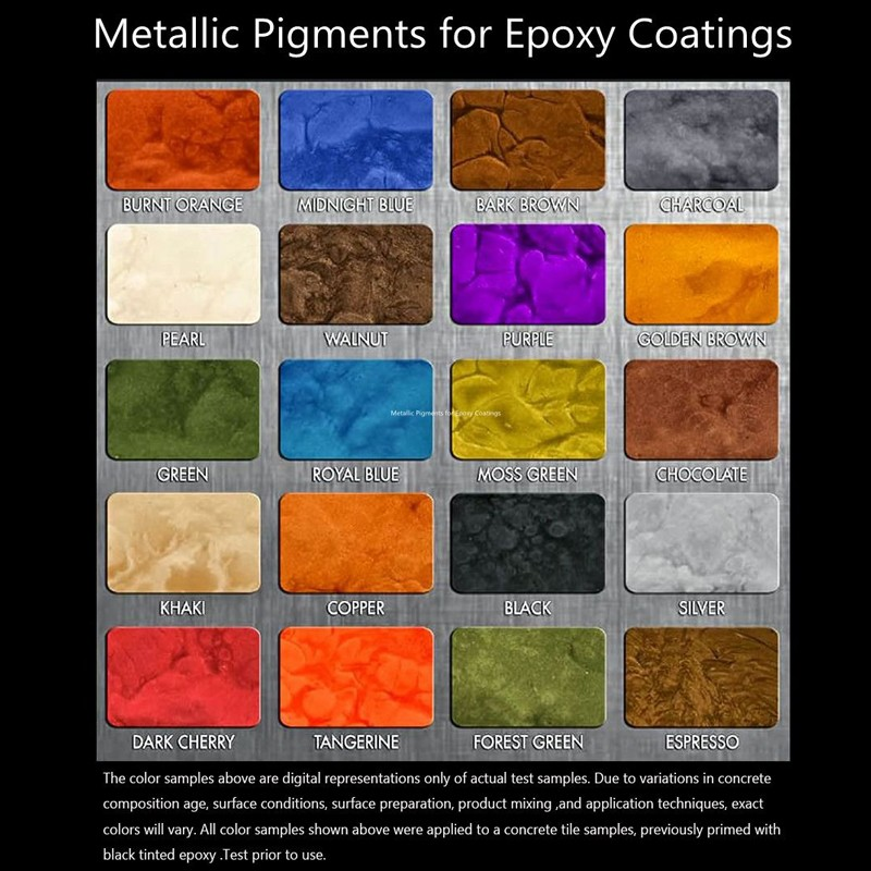 Metallic Pigments For Epoxy Resin Coating System