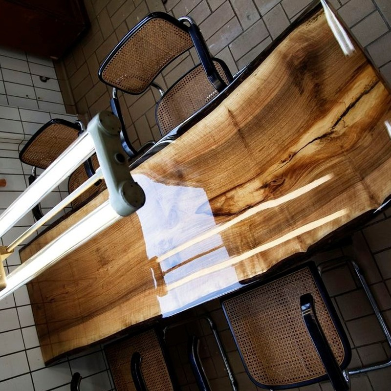 Epoxy Resin And Hardener For Wood Table Coating