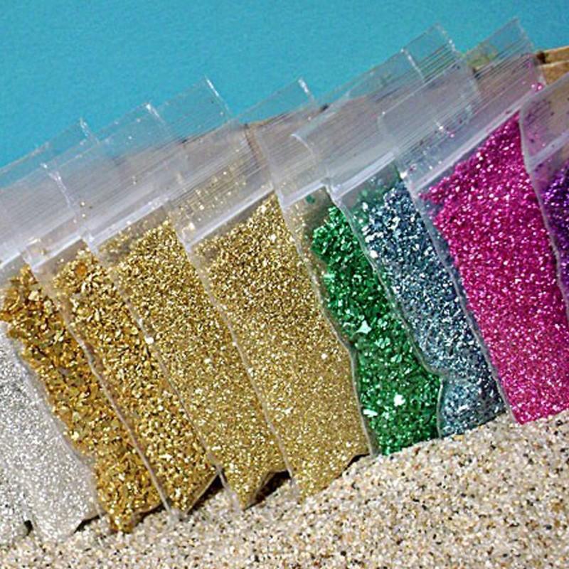 Holographic Glitter Epoxy Floor Coating