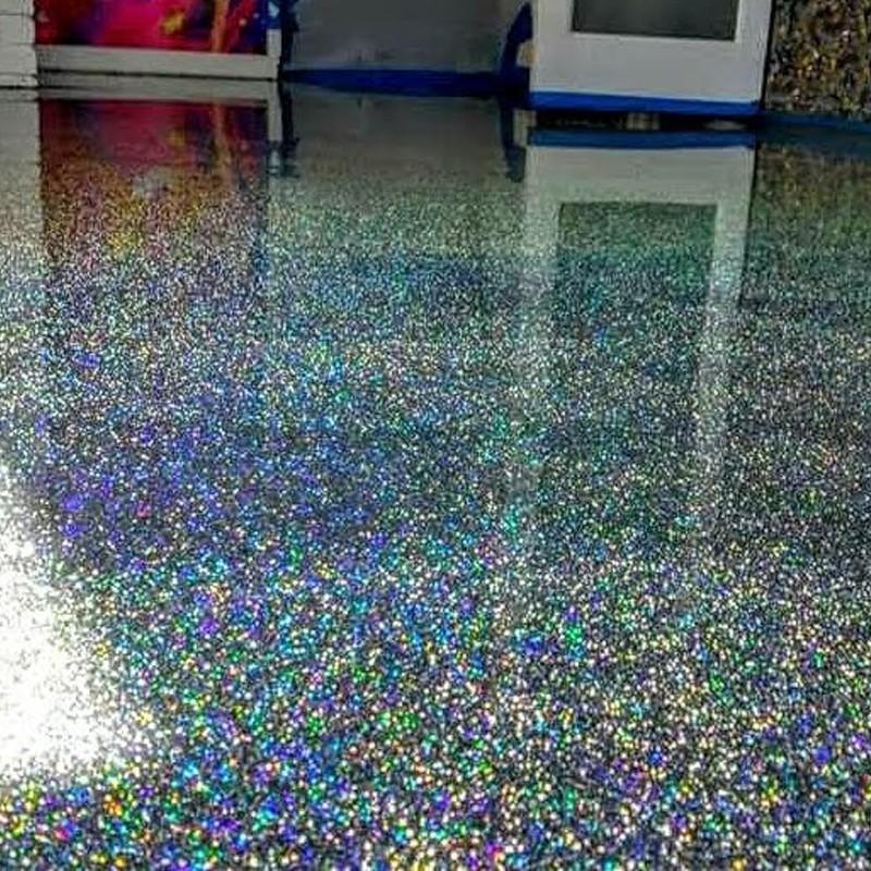 Epoxy Glitter Floor Coating