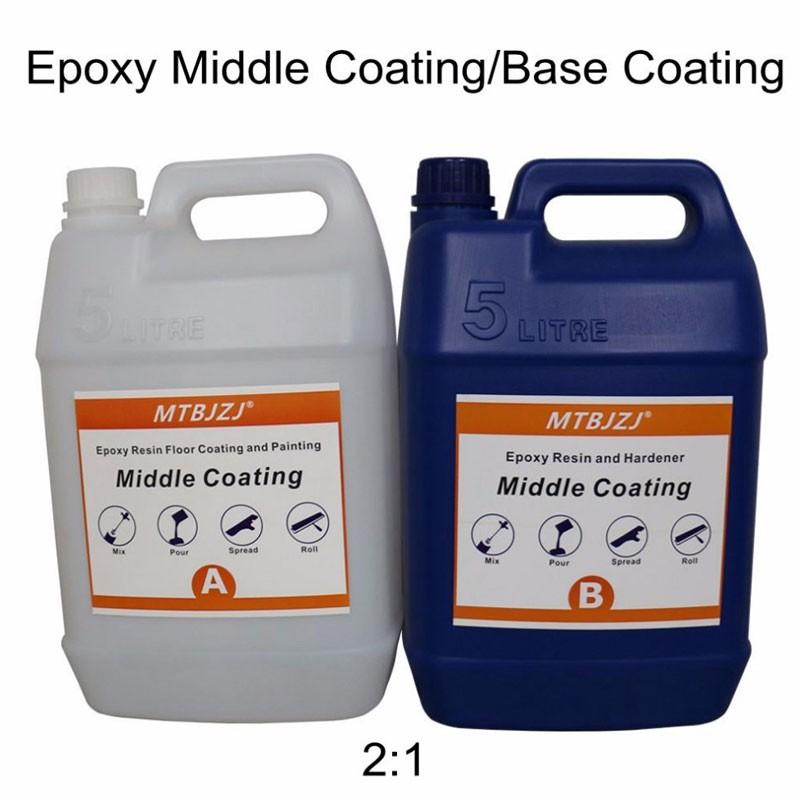 UV Resistant Zero VOC Solid Epoxy Floor