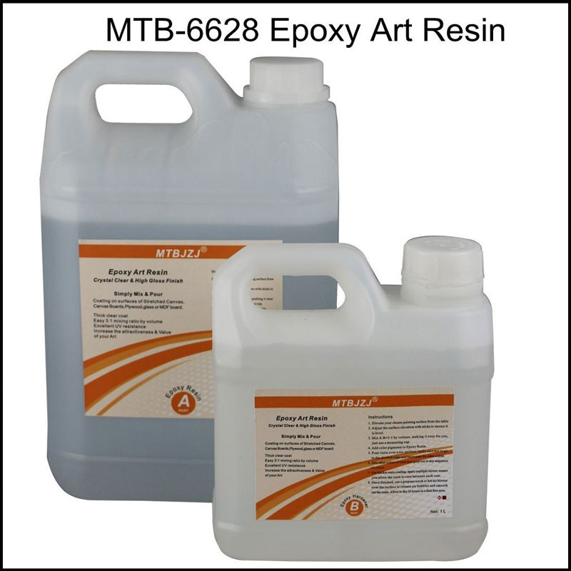 High Gloss Epoxy Resin Art Paint Resin