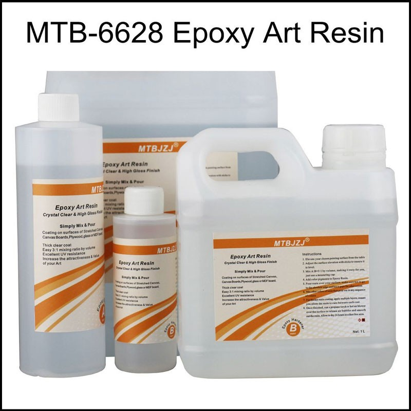 Crystal Clear Epoxy For Art Paint