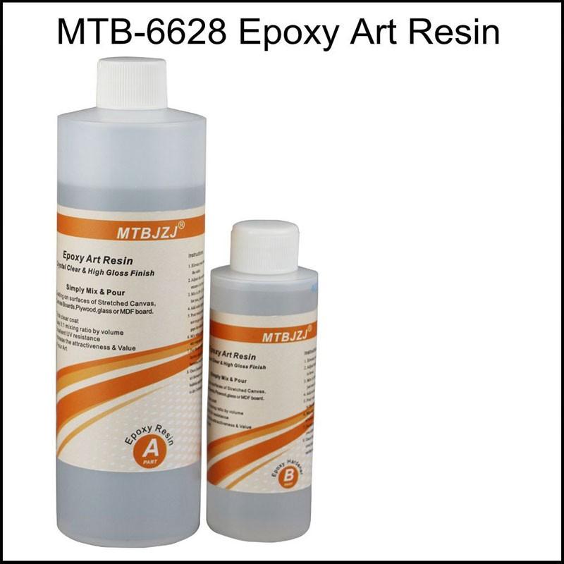 Clear Non-toxic Art Resin Coating Kit