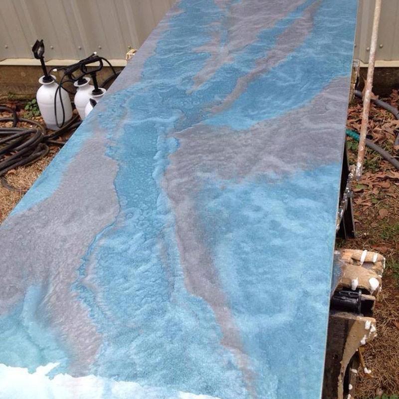 Marble Epoxy Concrete Countertop Coating