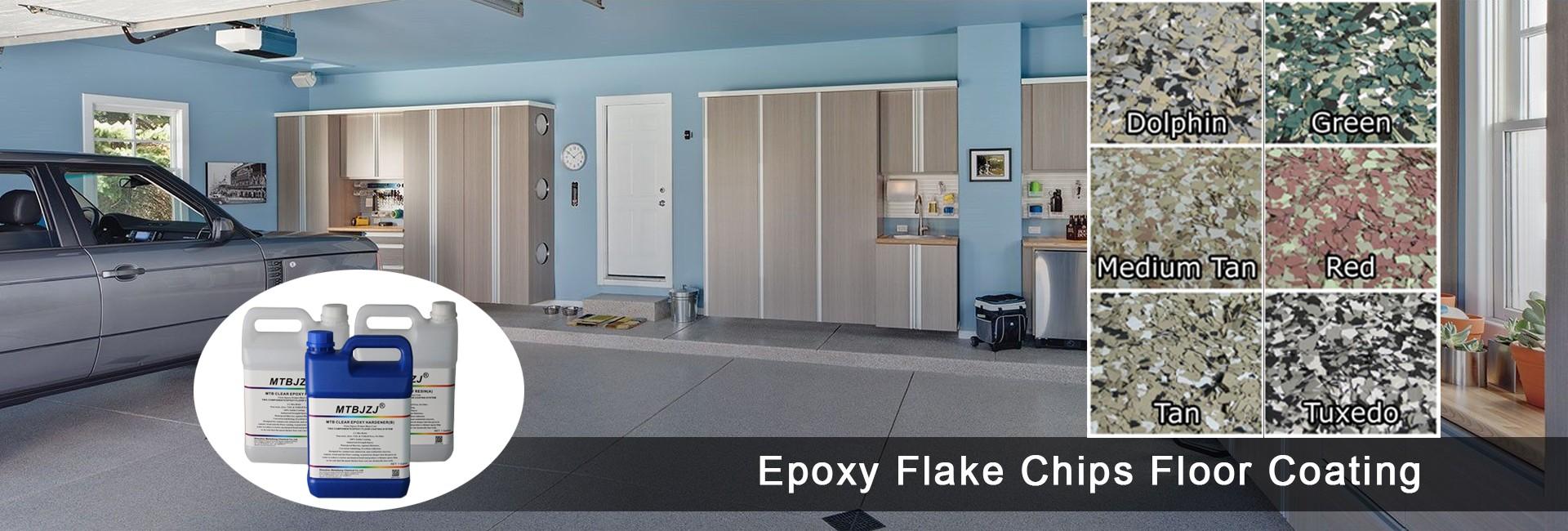 Solid Color Epoxy Bodenbeschichtung