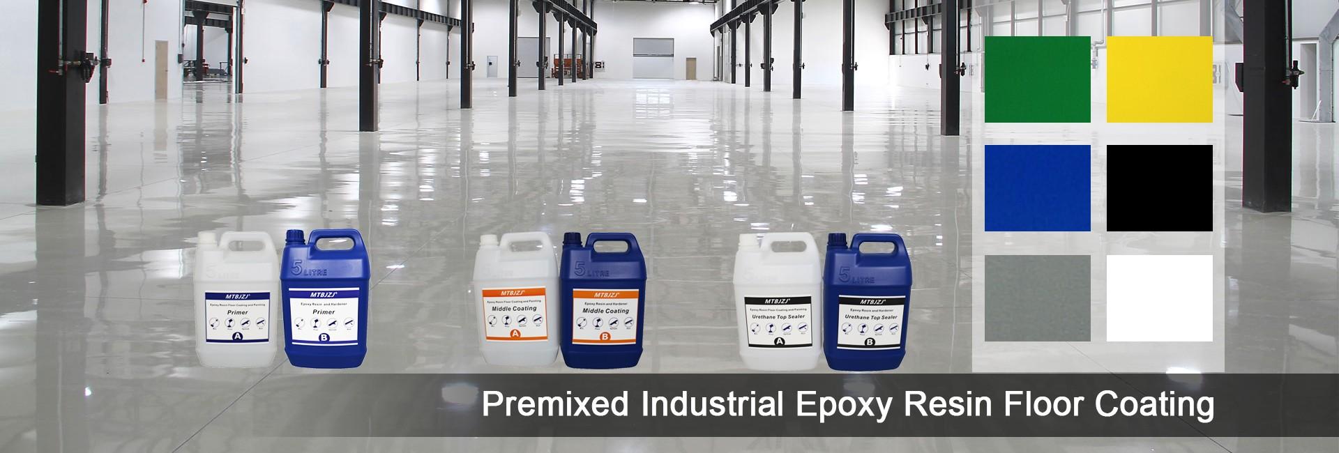 Epoxy Flake Chips Bodenbeschichtung