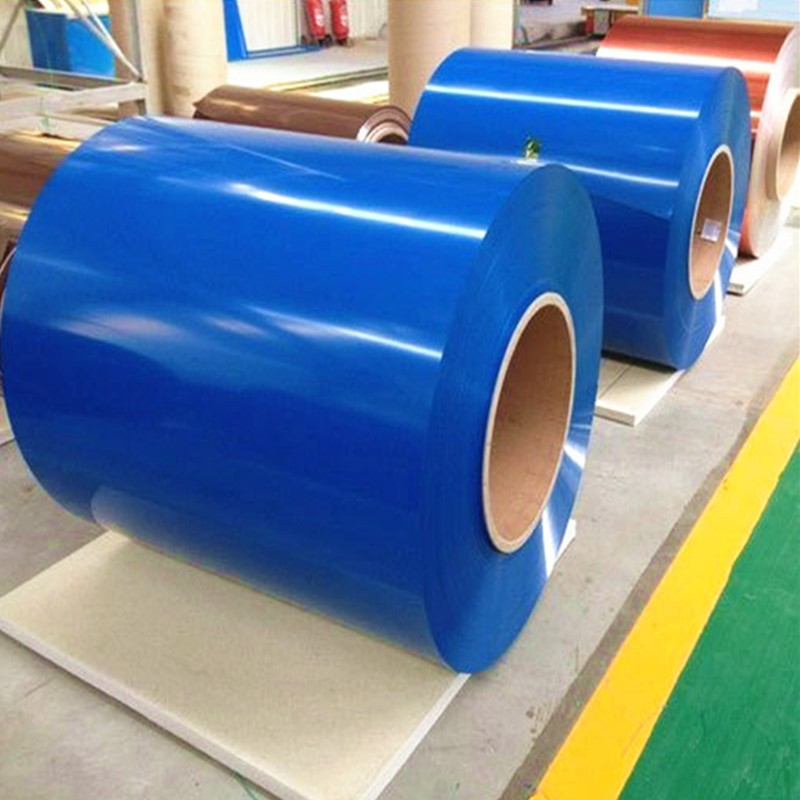 PVDF colored plain coated aluminum sheet coil