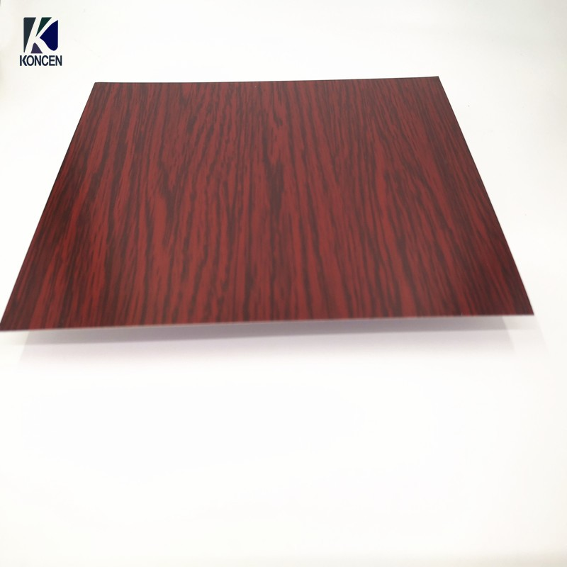 Wooden Pattern Color Coated Aluminum Coil For Acp And Roofing