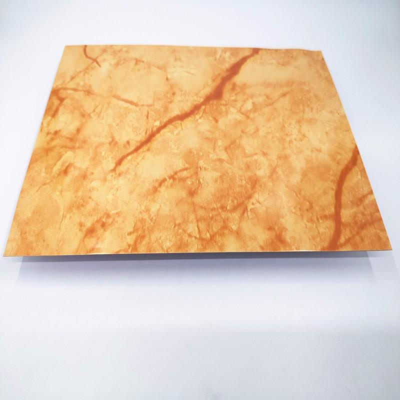 Marble aluminum sheet
