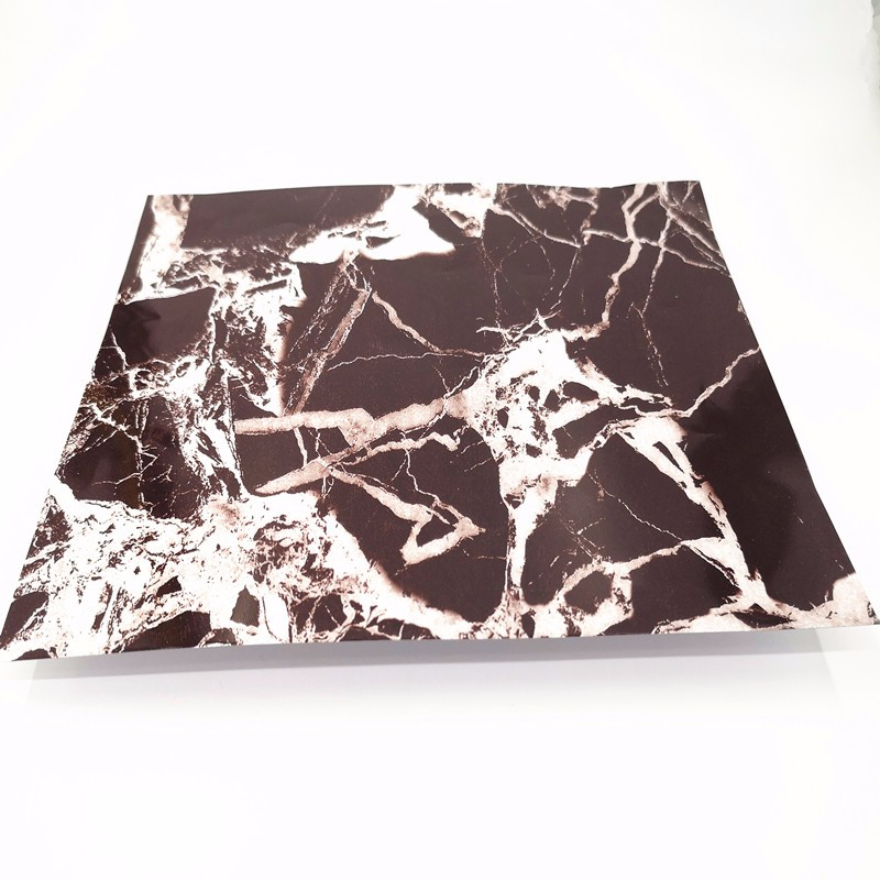Pre-coating Marble-look Color Aluminum Sheet For Decorate