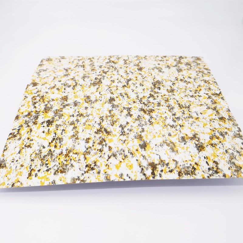 3D marble color aluminum sheet