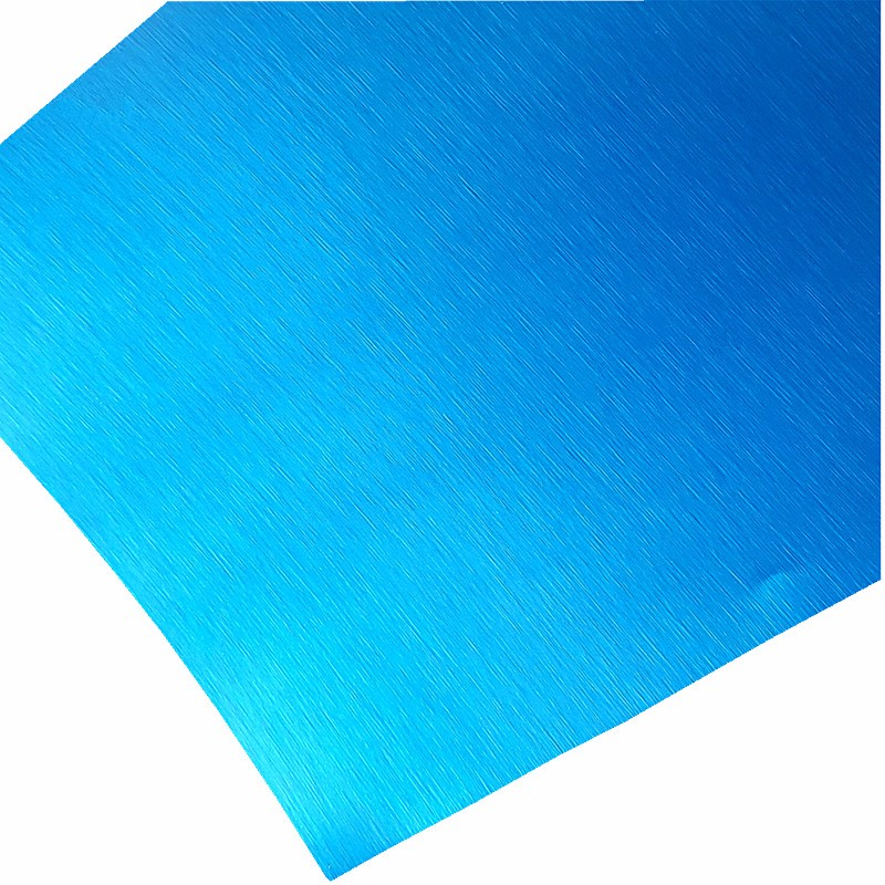 Anodized Color Brushed Aluminum Sheet Cost Price