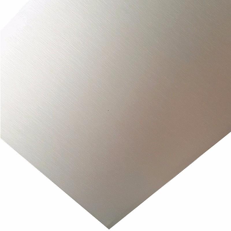 brushed aluminum paint plate