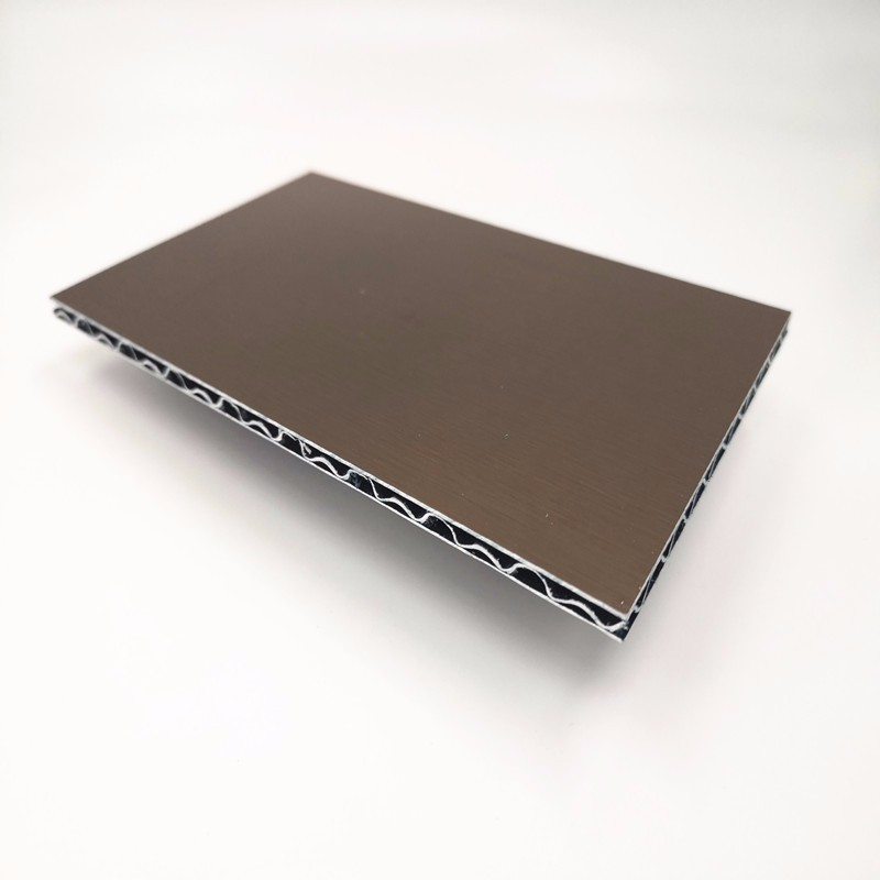 PE And PVDF Aluminum Core Composite Panel