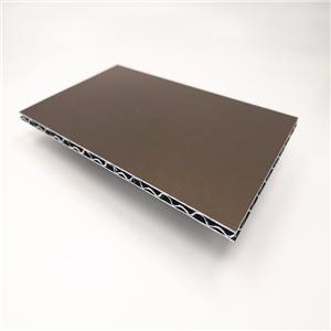 PE And PVDF Aluminum Core Composite Panel