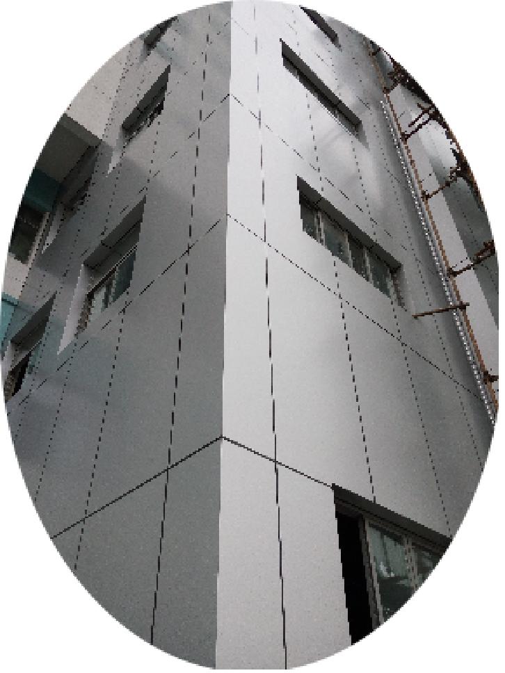 Aluminum Core Composite Panel