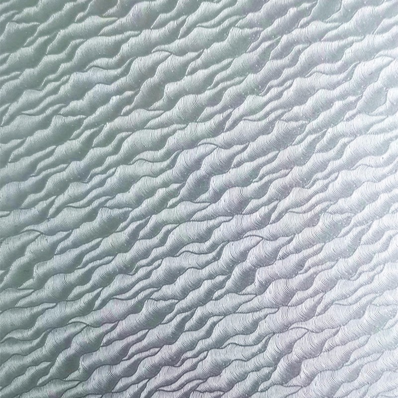 stucco embossed aluminum foil