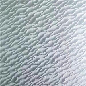White Color Coated Embossed Aluminum Foil