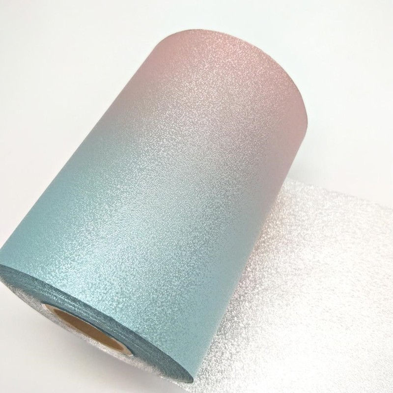 Aluminum products Embossed Roll Tropic Vibescolored