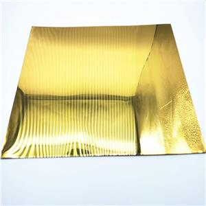 Custom Size Price Anodizing Plate Gold Mirror Anodized Aluminum Sheet