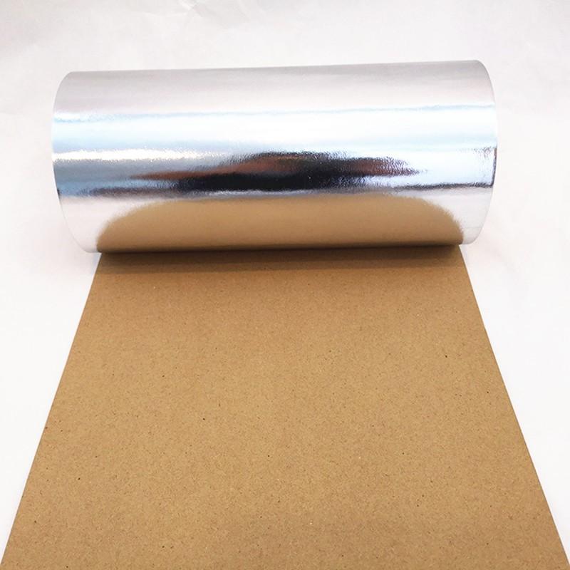 reinforced aluminum foil face laminated kraft paper