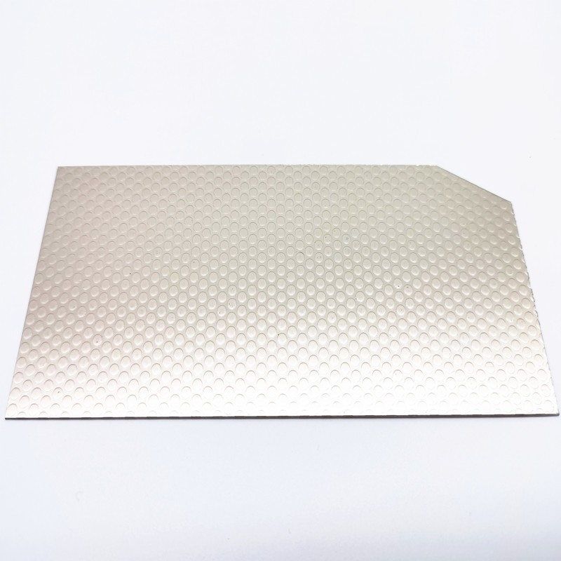 Hot sales stucco embossed aluminum for Refrigerator and decoration wholesale