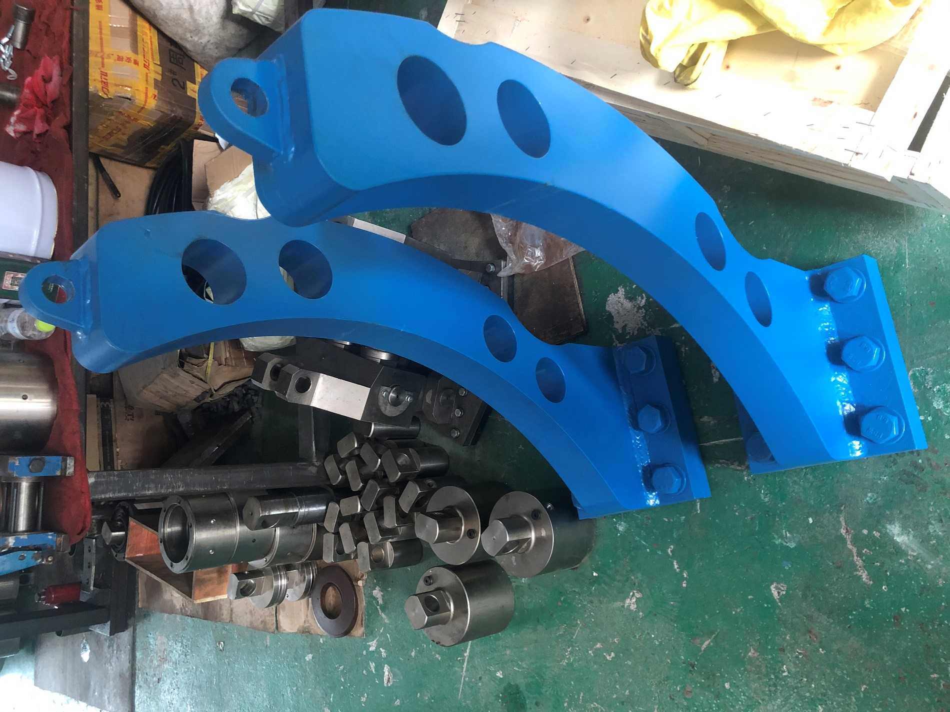 Disc Brake Caliper Frame For Oil Rig