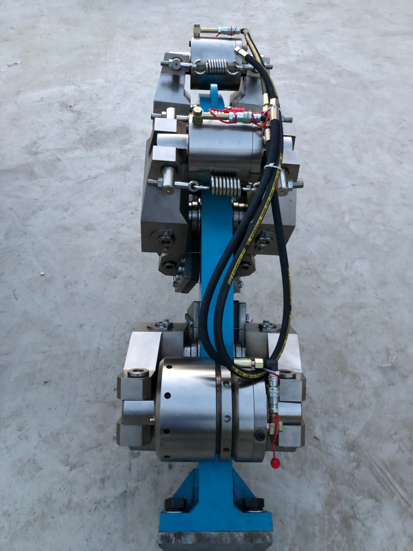 A customer in Shaanxi Province ordered a 50-drill rig disc brake modification project