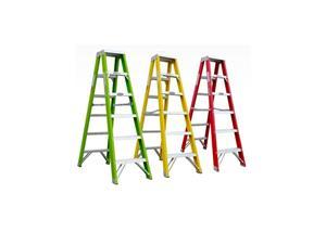 Fiberglass Double Step Ladder