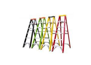 Fiberglass Single Step Ladder