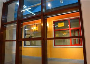 Exterior & Interior Decorative Application And Customized Size Unitized Curtain Wall System