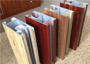 Aluminum Wooden Grain Profiles